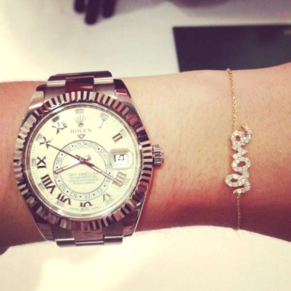 Love-with-diamond-and-rolex-watch